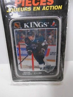 Wayne Gretzky vintage patch in sealed pack 1990s