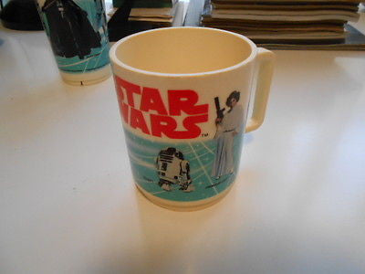Star Wars rare original coffee mug 1980