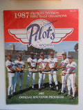 Toronto Blue Jays Roberto Alomar signed minor league baseball program