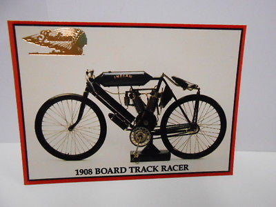 Indian motorcycle Gold stamped rare series 2 Promo card #1 1990s
