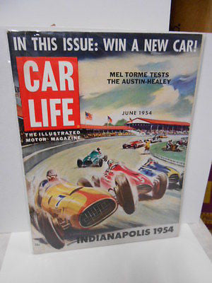 Formula 1 rare Car Life vintage all intact racing magazine 1954