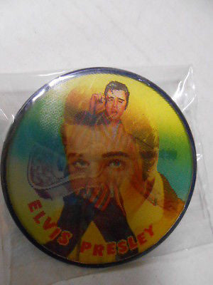 Elvis rare Flicker button 1960s