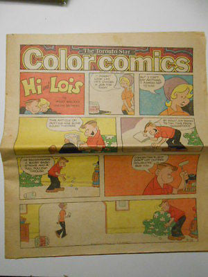 Comic full insert section Toronto Star Newspaper May 11,1974
