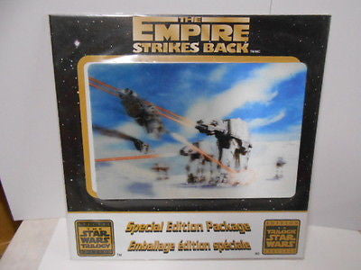 Star Wars 3 lenticular cards from all 3 movies cereal box backs 1990s set