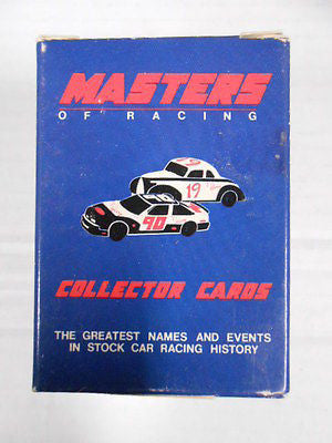 Masters of Racing rare stock car racing set 1990s