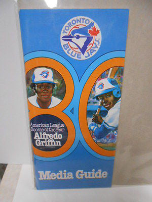 Toronto Blue Jays rare Media Guide 1980s
