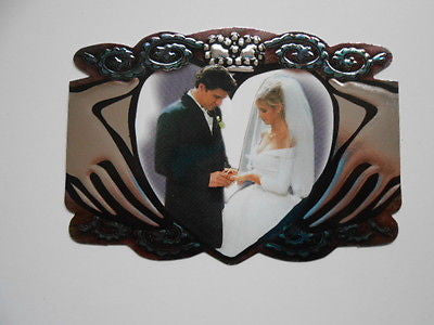 Buffy the Vampire Slayer TV show diecut insert wedding card