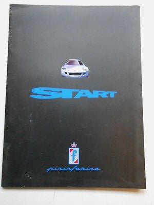 Ferrari Pininfarina car rare limited issued press kit with photo slides 2002