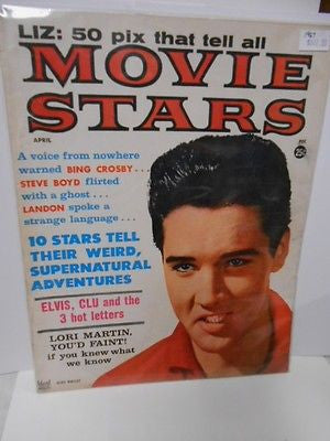 Elvis cover Movie Stars magazine 1967
