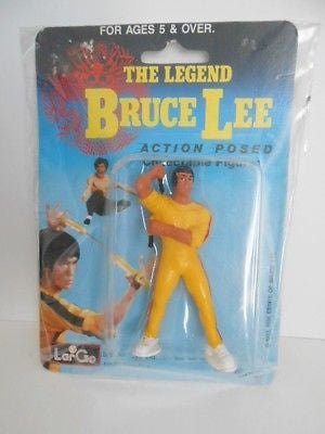 Bruce Lee rare vintage sealed in pack toy 1983