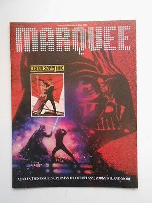 Star Wars Jedi rare canadian only issue movie magazine 1983