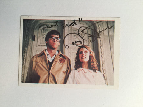 Rocky Horror Picture Show movie Barry Bostwick autograph card with COA