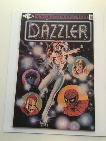 Dazzler #1 high grade comic book