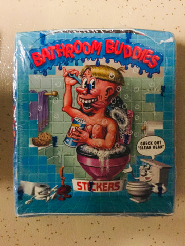 1996 Topps Bathroom Buddies cards 48 packs rare box