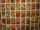 Marvel First Issue Covers cards uncut card sheet 1984