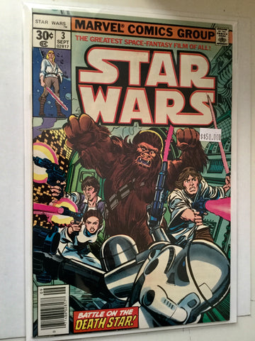Star Wars #3 original high grade comic book 1977