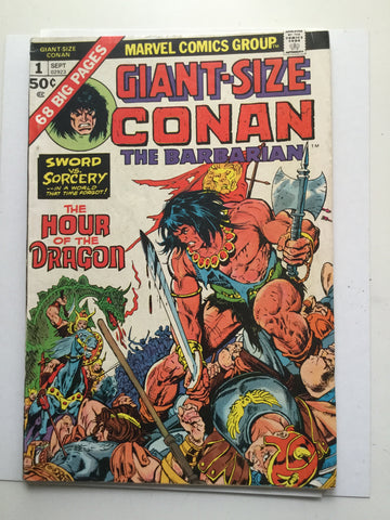 Conan the Barbarian Giant Size #1 comic book