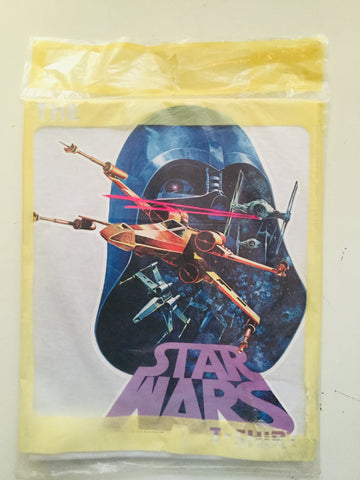 Star War Rare Original iron on T-shirt adult large 1977