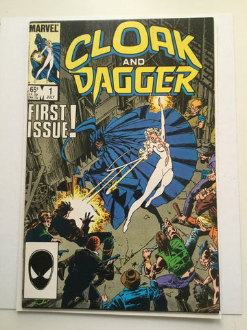 Cloak and Dagger#1 high grade comic book 1985