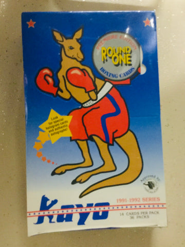 1991 Kayo boxing cards rare factory sealed 36 packs box