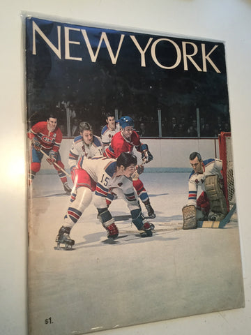 Toronto Maple Leafs hockey game program 1970