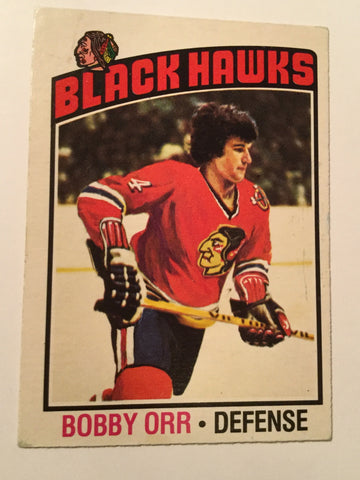 Bobby Orr opc hockey card 1976/77