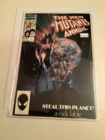 The New Mutants Annual #1 comic book