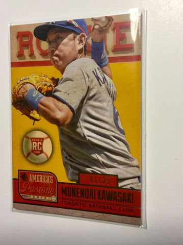 Blue Jays Kawasaki rare numbered rookie card 1/25