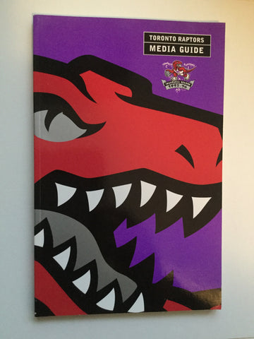 Toronto Raptors basketball Rare first year Media guide 1995