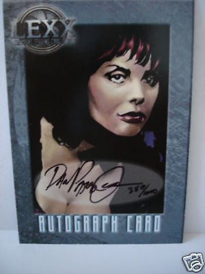 Lexx TV show signed numbered insert card