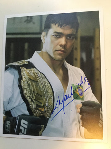 UFC legend Lyoto Machida Signed Photo with COA