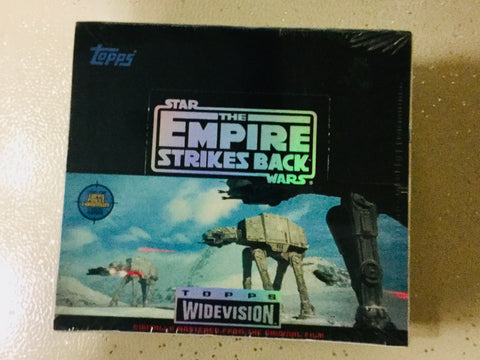 1995 Star Wars Empire Strikes Back widevision cards 24 packs factory sealed box