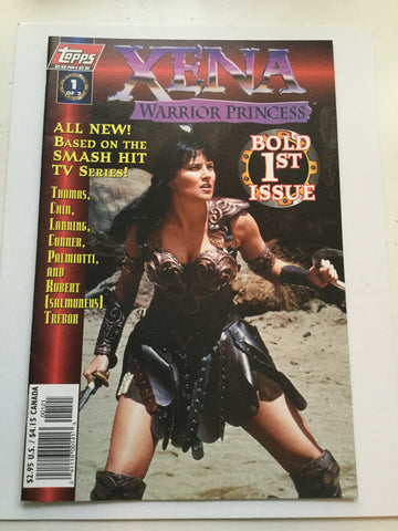 Xena Warrior Princess Rare #1 comic book