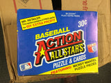 Baseball Action All Stars cards full box. 1983