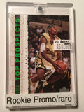 LeBron James UD Top Prospects Rookie NBA Promo Card 2003