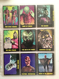 Outer Limits TV show rare complete cards set 1962