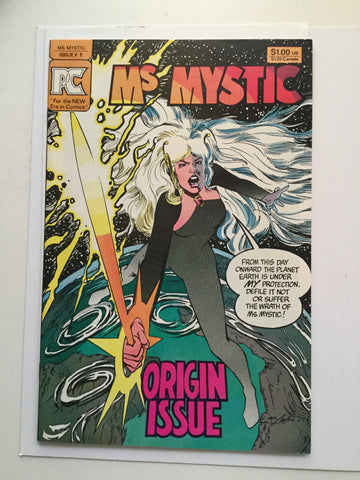 Ms Mystic #1 high grade comic book