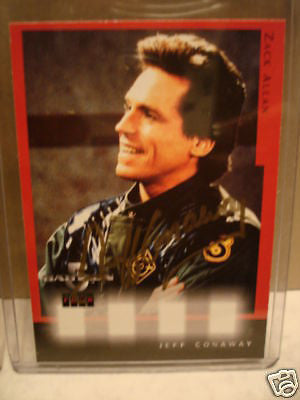 Babylon 5 Jeff Conway autograph insert card