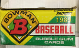 Bowman Baseball cards 36 packs box 1989