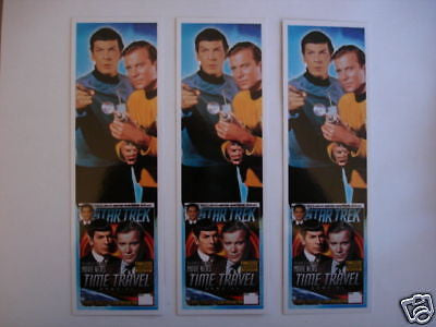 Star Trek TV show 3 bookmarks limited set