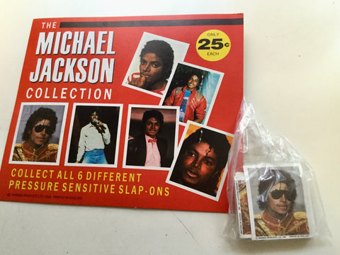 Michael Jackson rare stickers sets lot deal 1984