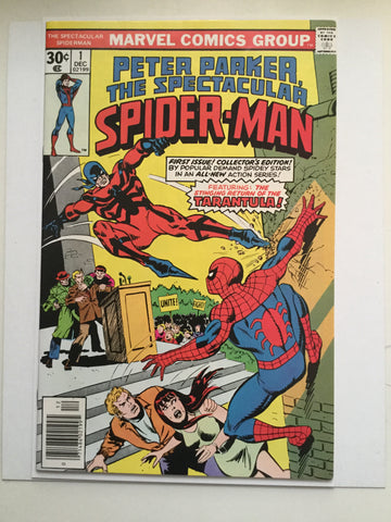 Peter Parker Spectacular Spider-man #1 comic book