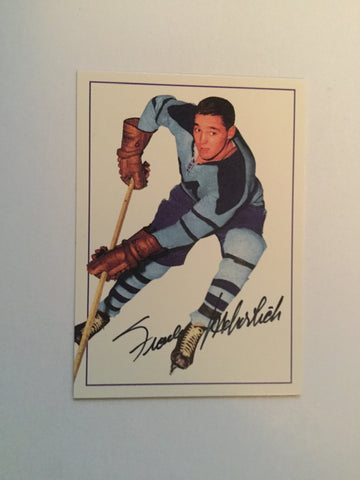 Frank Mahovlich numbered autograph Parkhurst insert card