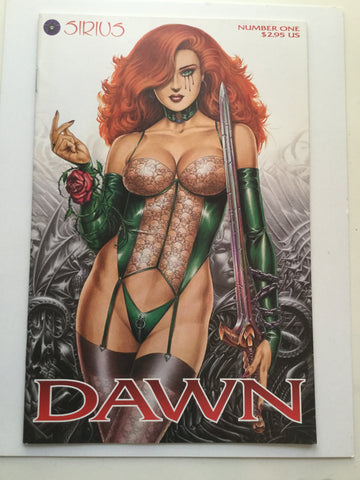 Dawn #1 high grade comic book