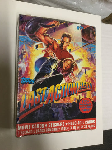 Last Action Hero cards rare full box