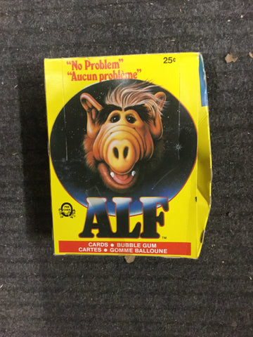Alf TV show series 1 rare opc cards full box 1987