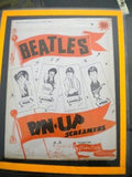 The Beatles rare original Pin up 4 screamers set 1964