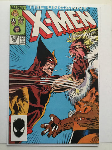 X-Men #222 high grade comic book