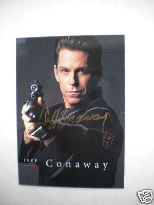 Babylon 5 scifi Jeff Conway signed insert card
