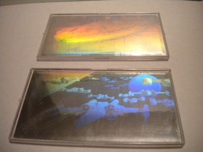 Star Wars Widevision hologram insert cards set 1997